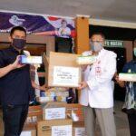 Konferwil ke-2, AMSI Jatim Salurkan Vitamin dan APD untuk Nakes RSSA Malang