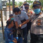 Hedak Ikut Demo UU Omnibus Law, Pelajar di Kediri Nangis saat Diamankan Polisi