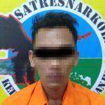 Pengedar Pil Dobel L Ditangkap Polisi di Jembatan Baduk Tanjunganom Nganjuk