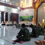 HUT TNI Ke-75 di Lamongan Diperingati Khotmil Quran dengan Tetap Terapkan Prokes