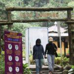 Wisata Air Terjun Watu Lumpang Pacet Mojokerto, Terapkan Prokes