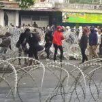 BREAKING NEWS : Demo Tolak Omnibus Law di Jember Berakhir Ricuh