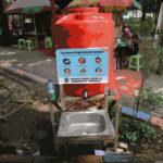 Tandon Cuci Tangan Tidak Terawat, LInK : Pemkab Jombang Tak Serius Tangani COVID-19