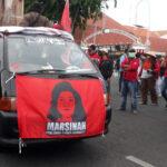Potret Marsinah, Simbol Perlawanan UU Omnibus Law Ciptaker yang Kontroversial
