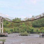 Pembangunan Jembatan Bambu di Mangrove Wonorejo Surabaya, Senilai Rp 1,2 Miliar Mangkrak