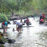 Viral, Sungai di Mojokerto Jadi Wisata Dadakan dan Ramai Pengunjung