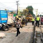 Kecelakaan Beruntun di Pandaan Pasuruan, Libatkan 3 Truk