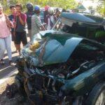 Kecelakaan Pikap Vs Sedan di Pamekasan, 1 Orang Meninggal