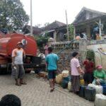 Alami Kekeringan, Pemkab Pasuruan Gelontor Air Bersih ke Sejumlah Wilayah