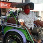 Cerita Jumin, Pengemudi Bentor di Sidoarjo yang Tak Segan Ingatkan Penumpang Patuhi Prokes