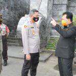 Antisipasi Libur Panjang, Pjs Walikota Bersama Kapolresta Blitar Pantau Tempat Wisata