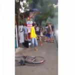 Pom Mini di Cukir Jombang Terbakar