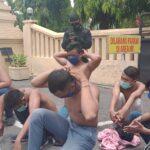 Puluhan Pelajar Diamankan Saat Demo Tolak Omnibus Law di Jombang