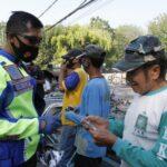 Hari Ini Sat PJR Polda Jatim Gelar Operasi Prokes di 14 Titik