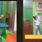 VIDEO: Rumah Berdiri di Perbatasan 2 Negara, Ruang Tamu Indonesia Dapur Malaysia