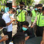 Tekan Penyebaran COVID-19 di Kota Blitar, Petugas Gencar Operasi Yustisi