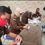 Jaksa dan Pegawai Kejari Kabupaten Pasuruan Jalani Tes Urine