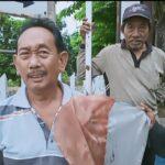 Jiwa Patriotisme, Tukang Becak di Pasuruan Urunan Ganti Bendera Merah Putih yang Usang