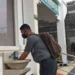 PN Sidoarjo Perbanyak Fasilitas Cuci Tangan