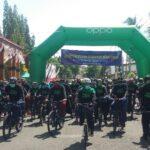 Gubernur Jatim dan Bupati Situbondo Gowes Bareng, Pantau Kepatuhan Warga terhadap Prokes