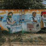 KPU Surabaya Sosialisasi Pilkada Damai Lewat Lomba Seni Mural