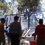 Ditinggal Kerja Jadi Juru Parkir, Rumah Lansia di Situbondo Hangus Terbakar