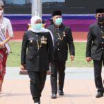 Jokowi Sebut Ada Peningkatan Penanganan Covid-19 di Jatim, Khofifah: Tetap Disiplin Prokes