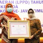 Kinerja Pemkab Jombang Menduduki Peringkat 5 Terbaik Se-Jatim