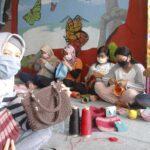 Mengisi Waktu di Masa Pandemi, Perempuan Penghuni Lapas Ngawi Berlatih Merajut