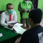 Jelang Libur Panjang, Pjs Bupati Blitar Pimpin Operasi Yustisi