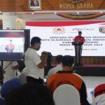 Pengurus KONI Ngawi Dilantik Secara Virtual dan Terapkan Protokol Kesehatan