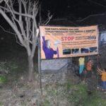 Warga Beji Pasuruan Ramai-Ramai Tutup Saluran Limbah Pabrik