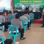 Langgar Prokes, Puluhan Anggota Lantas Polres Pasuruan Jalani Sidang Yustisi