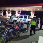"Patroli Antisipasi Balap Liar, Polisi Amankan 8 Sepeda Motor ""Bodong"""