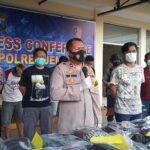 5 Tersangka Perusuh Unjuk Rasa di DPRD Jember Terancam Hukuman 7 Tahun Penjara