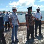 Pastikan Proyek Pelabuhan Dungkek Tepat Kontrak, Komisi III DPRD Sumenep Sidak Lokasi