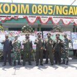 Kodim Ngawi Siap Dukung Polri dan Pemkab Tangani Covid-19