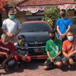 Komplotan Penggelapan dan Penadah Mobil Lintas Daerah Dibekuk Polisi di Surabaya