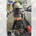 Viral Pemotor Joget di Surabaya, Polisi: Jangan Main Ponsel Saat Berkendara