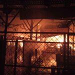 Diduga Korsleting Listrik, Warung Serta 3 Motor di Kota Probolinggo Ludes Terbakar