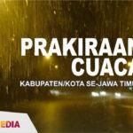 Prakiraan Cuaca Jatim 20 November 2020: Hujan Siang-Malam di Lumajang, Malang dan Blitar