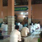 Jumatan di Masjid Nganjuk Ini Tetap Terapkan Prokes Ketat