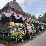 Karangan Bunga, Ucapan Bela Sungkawa Banjiri Pendopo Kabupaten Situbondo