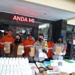 Polresta Malang Amankan 48 Kilogram Ganja dan Tiga Pengedar