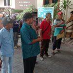 Lurug Gedung DPRD Kota Probolinggo, PKL Kecewa