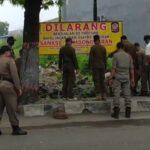 PKL di Mojokerto Menjamur, Petugas Gabungan Lakukan Penertiban