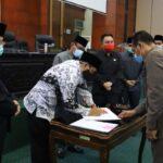 APBD Jombang 2021 Disetujui DPRD