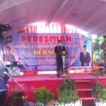 Pjs Walikota Blitar, Resmikan Kampung KB di Pakunden