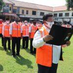 Deklarasi Optimalisasi Kampung Tangguh, Kapolres Jombang Klaim Mampu Tekan Covid-19