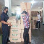 Logistik APD Pilkada Sidoarjo Mulai Distribusikan ke Tingkat Kecamatan
